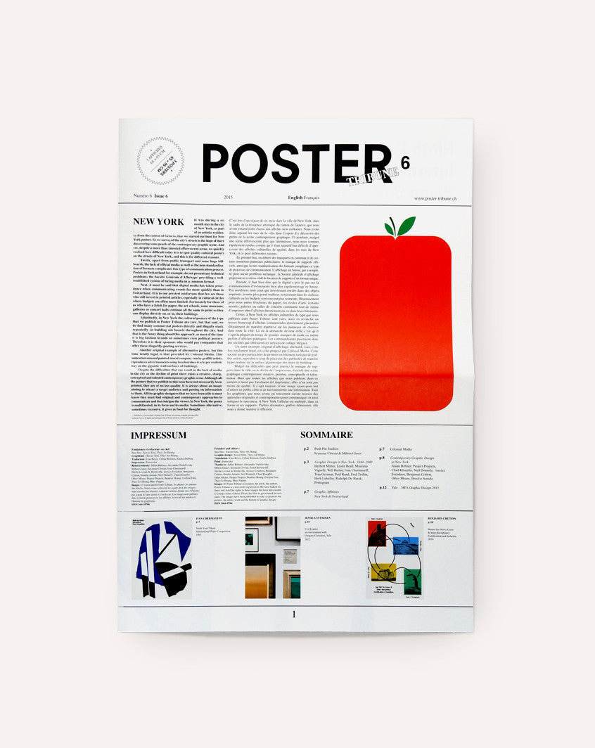 Poster Tribune, Issue 6