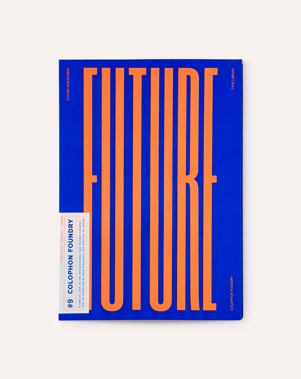 Posterzine™ Issue 9 | Colophon Foundry