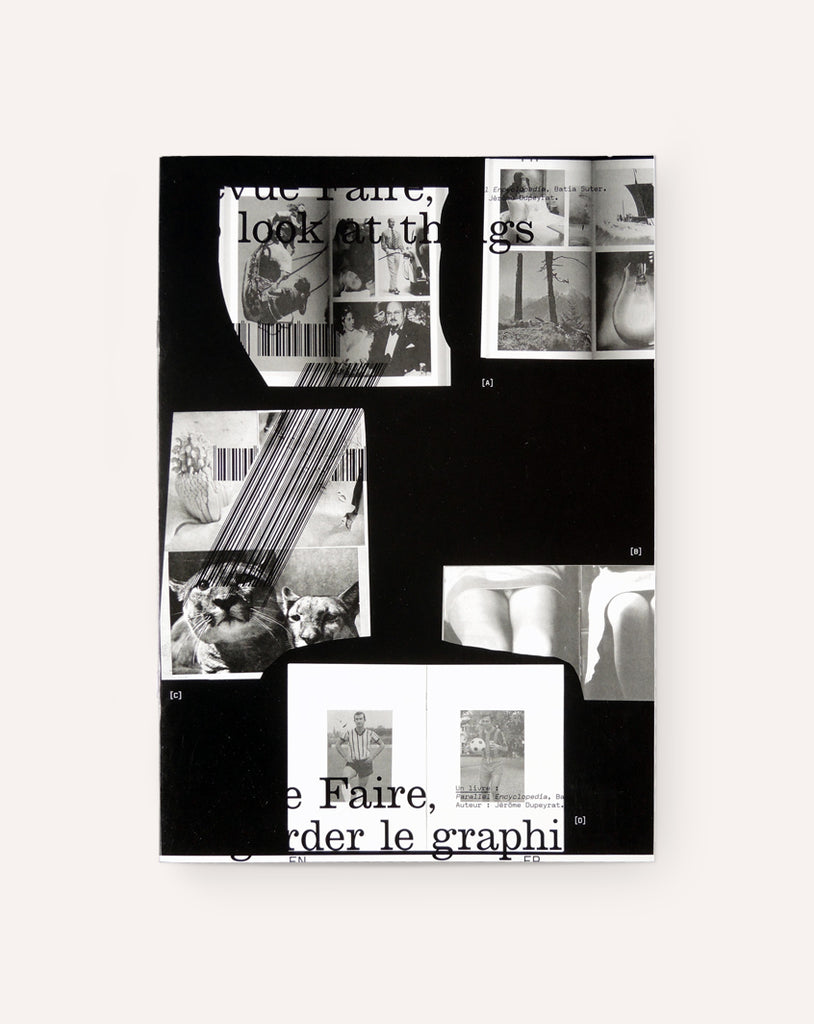 Revue Faire No. 7 (A book: Parallel Encyclopedia, Batia Suter)