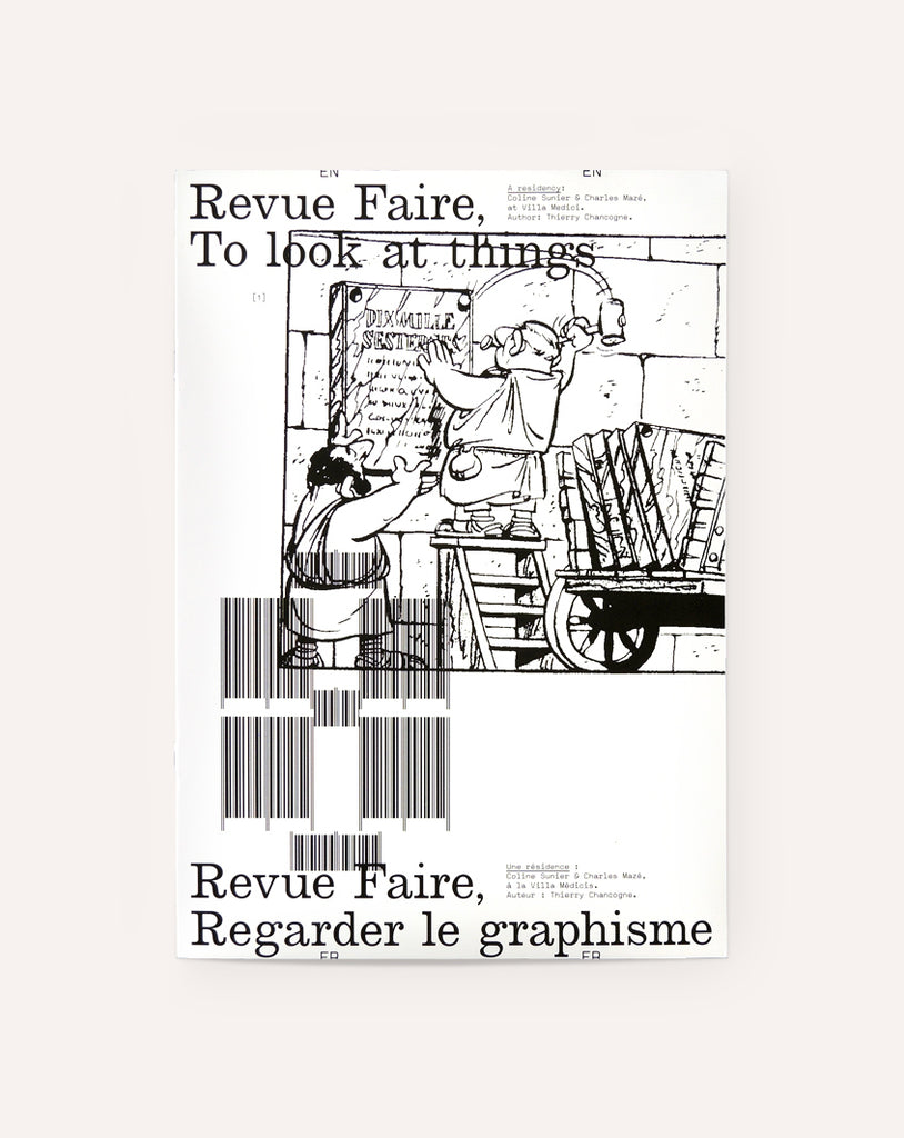 Revue Faire No. 8 (A residency: Coline Sunier and Charles Mazé at Villa Medici)