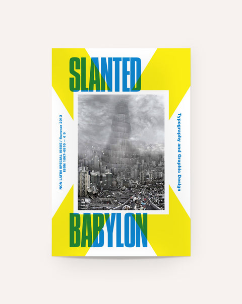 Slanted Babylon (Non-Latin Typefaces Issue)