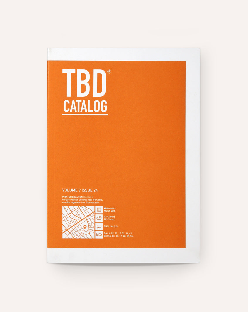 TBD Catalog / Near Future Laboratory