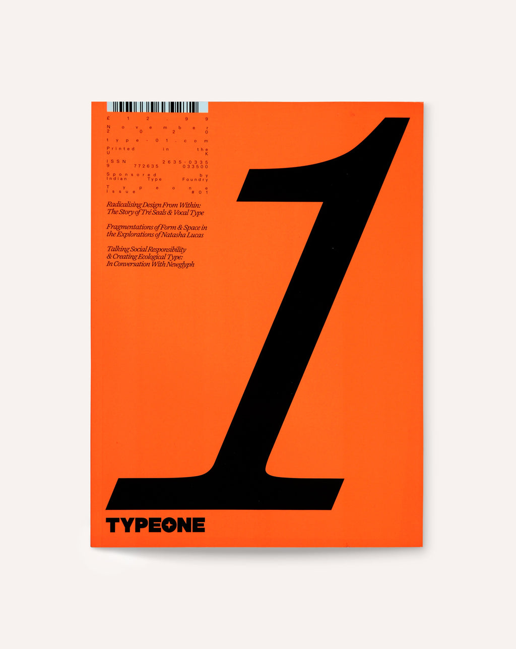 TYPEONE: Issue 01