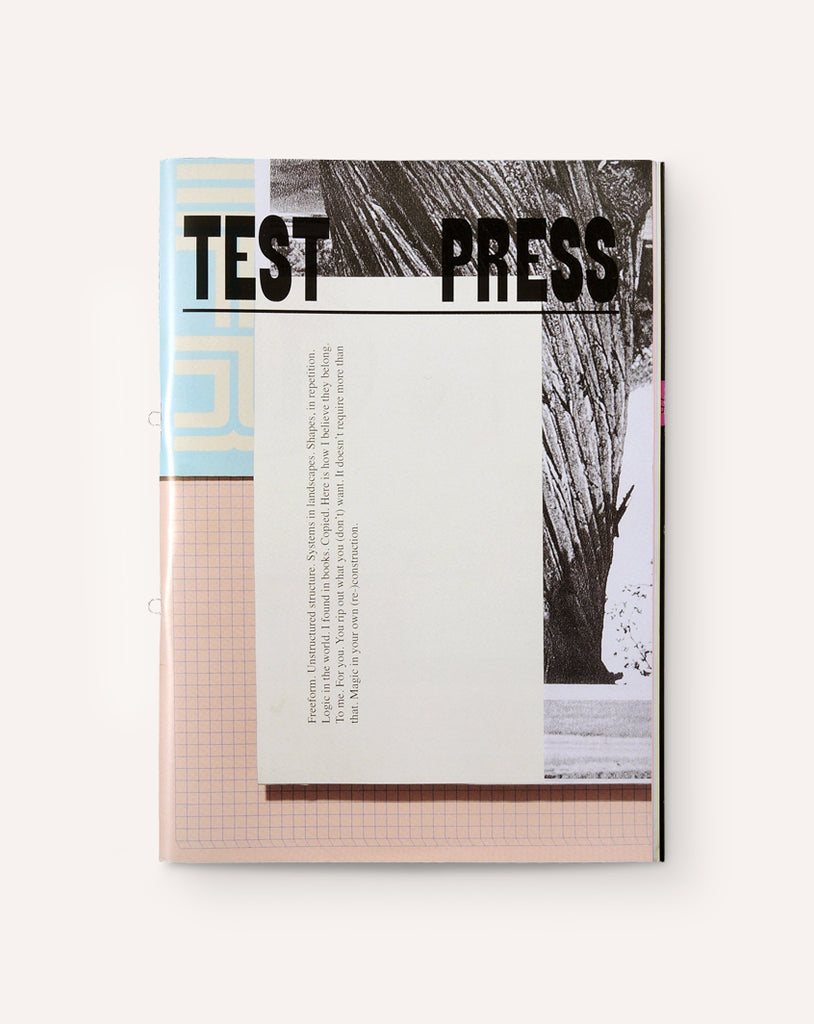 Test Press: 20 Years of Student Publications, 1999-2019