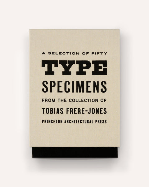 Fifty Type Specimens from the Collection of Tobias Frere-Jones