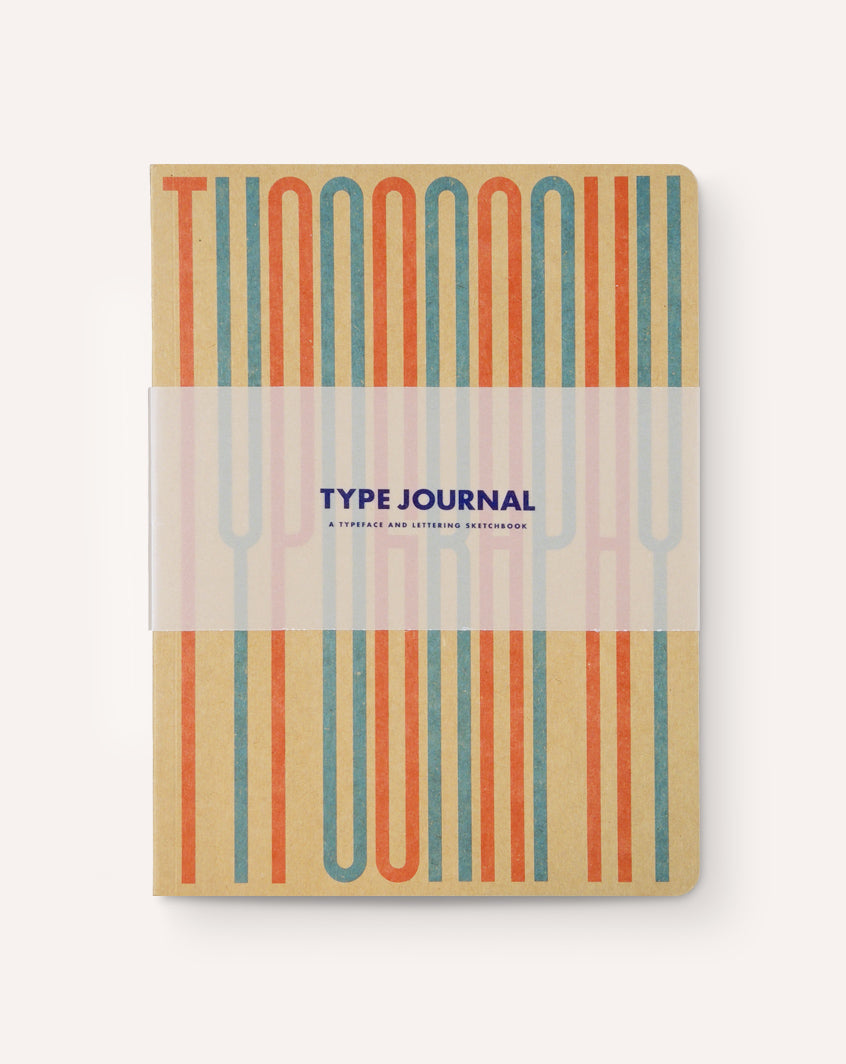 Type Journal: A Typeface and Lettering Sketchbook