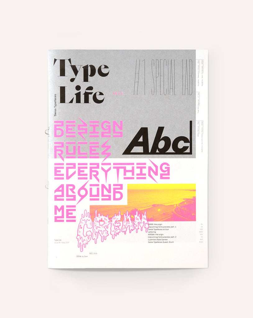 Type Life: Issue #1 - Special Lab