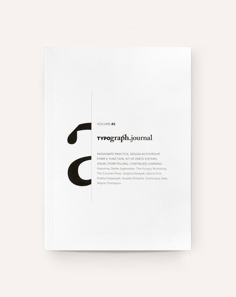 Typograph.Journal Vol. 01