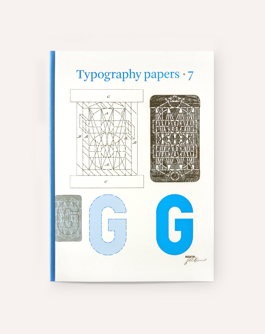 Typography Papers 7