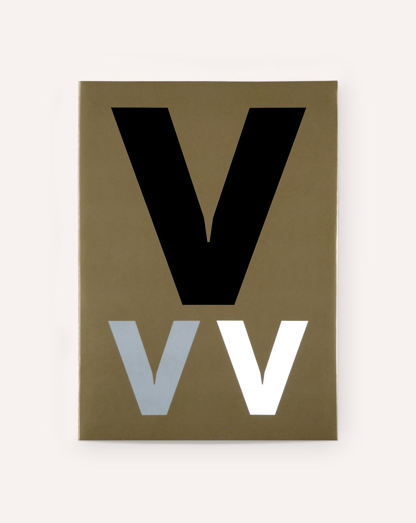 Visuelt Specimen / Colophon