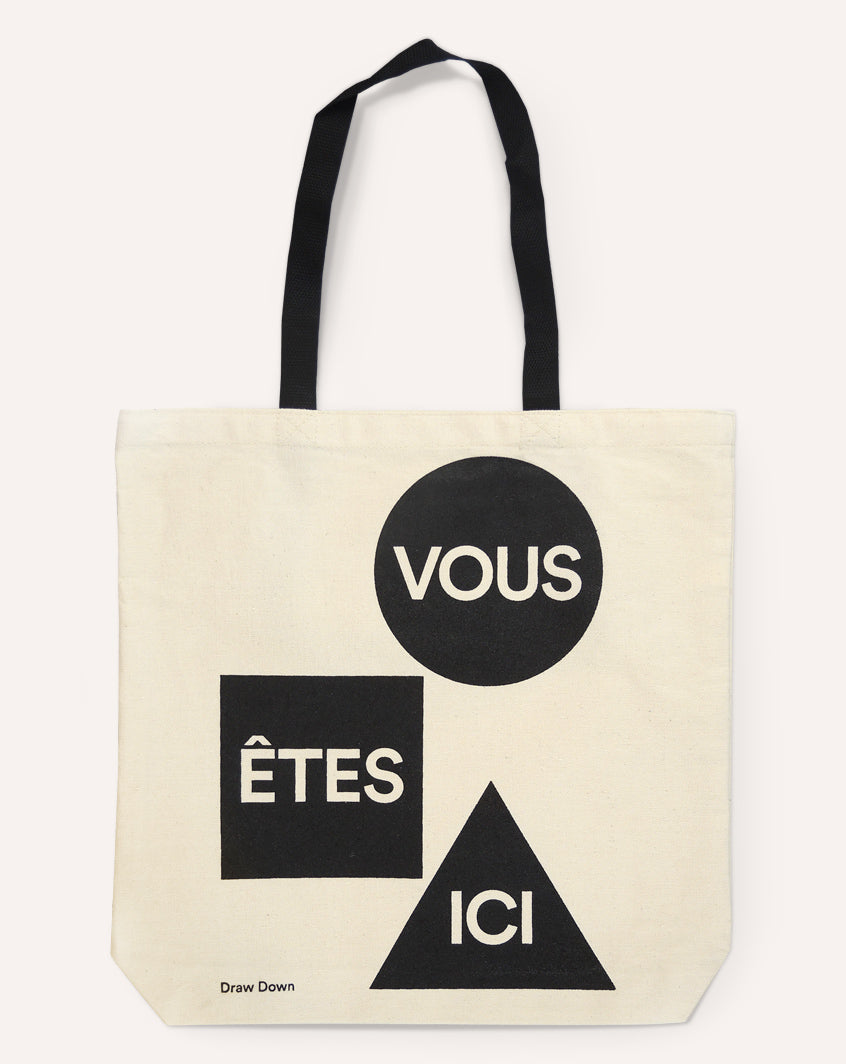 You Are Here — Tote Bag