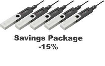 Ledger Nano S Savings Package