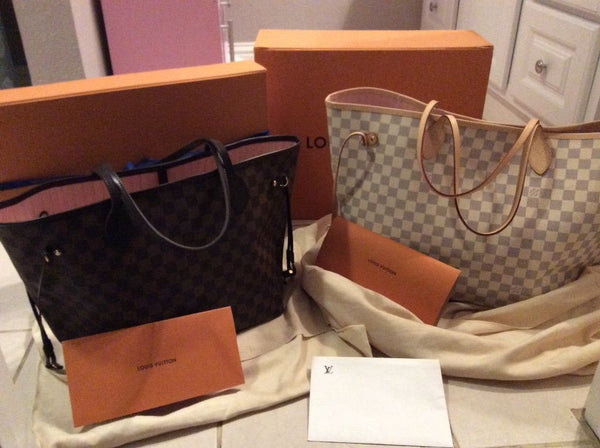 Louis Vuitton Neverfull Mm And Gm Swankysaks