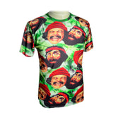 Cheech & Chong Weed Leaf T-Shirt - A Stoners Heaven