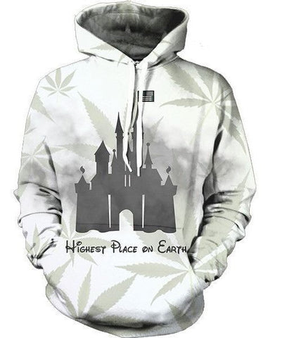 Highest Place On Earth Hoodie (Disney Parody)