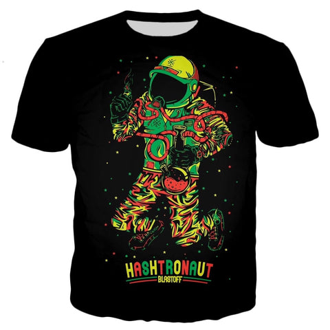 Hashtronaut Black T-Shirt