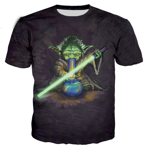 Star Wars Yoda Bong T-Shirt
