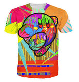 Abstract Colors T-Shirt - A Stoners Heaven