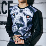 The Red Eyes Lion Sweatshirt - A Stoners Heaven