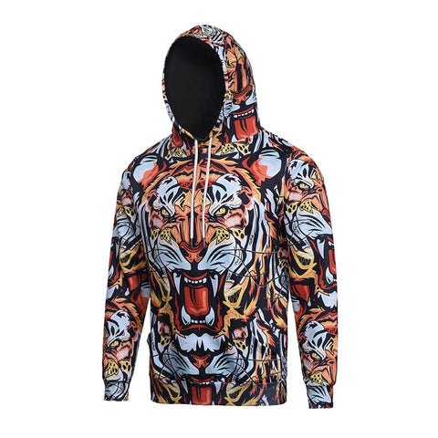 3D Roaring Tiger Hoodie - A Stoners Heaven