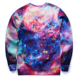 Hipster Galaxy Cat Sweatshirt - A Stoners Heaven
