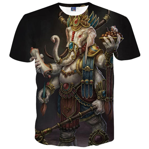 3D Four Arm Elephant T-Shirt - A Stoners Heaven