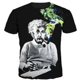 Einstein Smoking Pipe T-Shirt - A Stoners Heaven