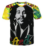 Bob Marley 'Lifted' T-Shirt - A Stoners Heaven
