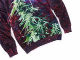 Weed Galaxy Hoodie - A Stoners Heaven