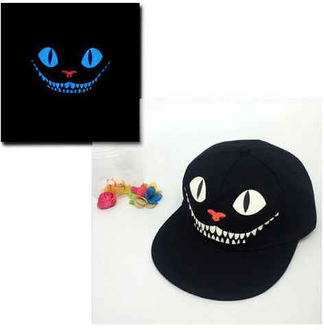 Cheshire Cat Glow In The Dark Snapback