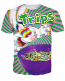 Trips Aren't For Kids T-Shirt - A Stoners Heaven