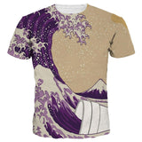 Lean Cup Waves T-Shirt - A Stoners Heaven