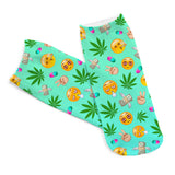 High Life Women Ankle Socks - A Stoners Heaven