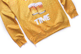 'It's Beer Time' Sweatshirt - A Stoners Heaven