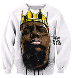 Biggie Smalls Graffiti Sweatshirt - A Stoners Heaven