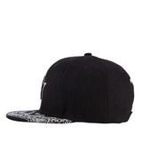 Star Patterned Peak Snapback