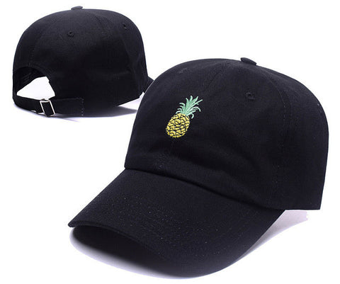 Pineapple Embroidered Baseball Cap - A Stoners Heaven