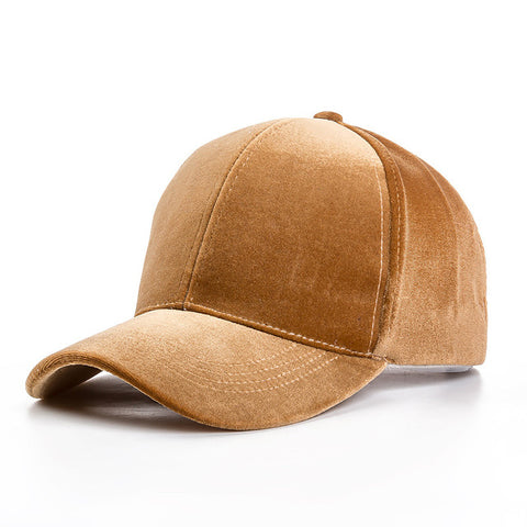 Suede Baseball Caps - 6 Colors