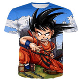 Kid Goku T-Shirt #2 - A Stoners Heaven