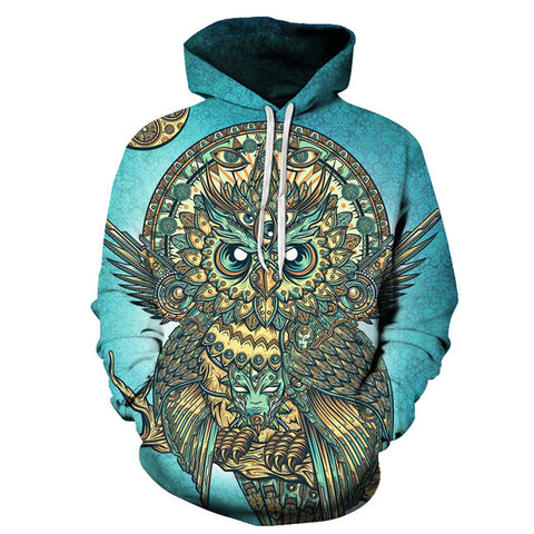 God Owl of Dreams Hoodie