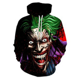 Joker Close Up Hoodie