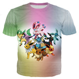 Pokémon Eevee Evolution T-Shirt