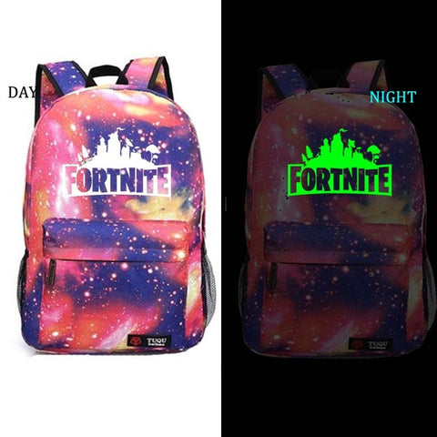 Fortnite Glow In The Dark Galaxy Backpack #1