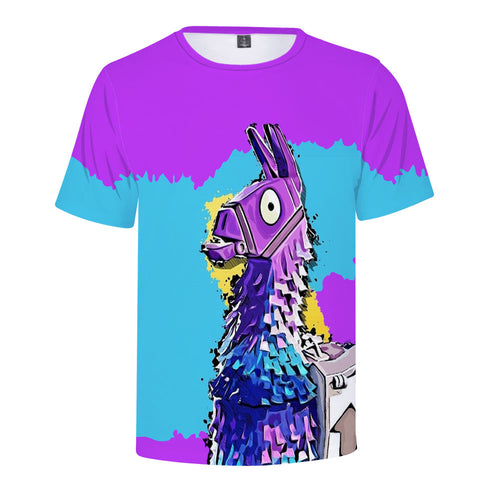 Fortnite Purple & Blue Llama T-Shirt