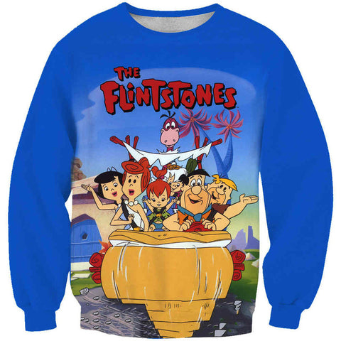 The Flintstones Blue Sweatshirt