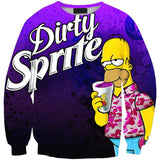 Homer Dirty Sprite Sweatshirt