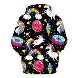 Unicorns, Donuts & Ice Cream Hoodie