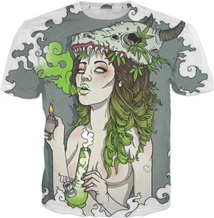 Mother Nature Bong T-Shirt