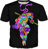 TMNT Donatello Abstract T-Shirt