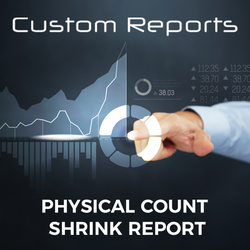 Counterpoint Physical Count Shrink Report